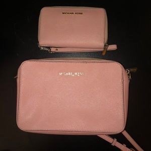Purse & wallet set